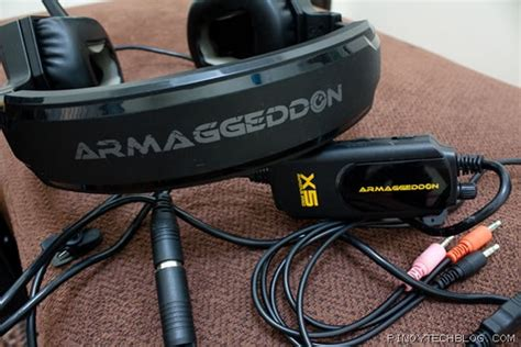 Headset Armageddon armageddon avatar pro x5 gaming headset review science and technology