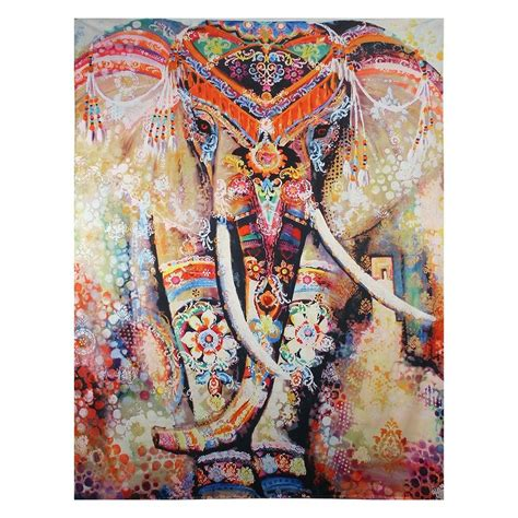 Yoga Inspired Home Decor indian tapestry wall hanging hippie elephant mandala