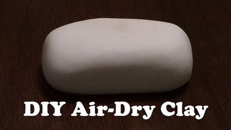 Hair Dryer Air Clay modeling clay recipe that hardens