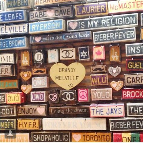 brandy melville home decor come check out our new signs fashion brandymelville