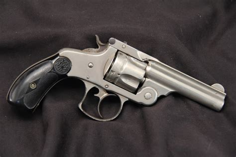 best 38 caliber revolvers smith wesson 2nd model 38 s w double action top break