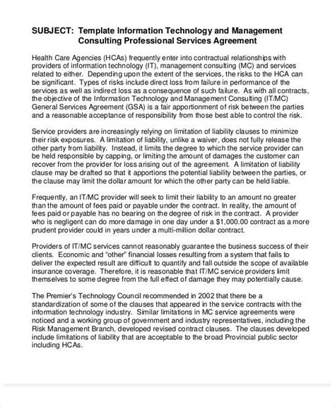 40 consulting agreement sle