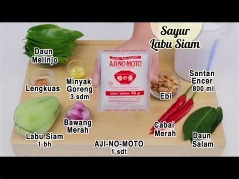 cara membuat cilok dapur umami dapur umami sayur labu siam youtube