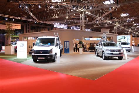 vw stand shot   cv show  commercial vehicle dealer
