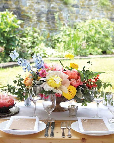wedding table flower centerpieces pictures floral wedding centerpieces martha stewart weddings