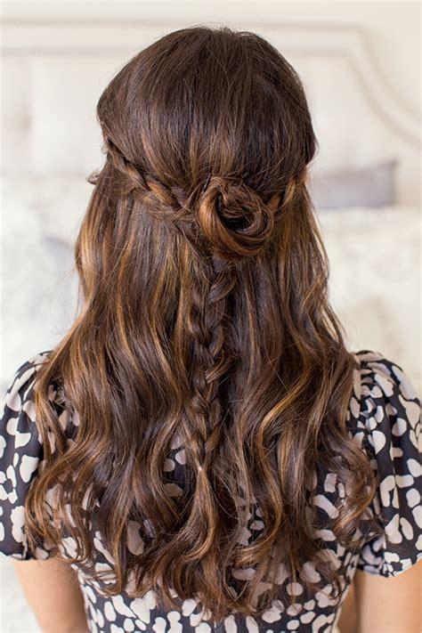 everyday hairstyles braids rodarte braids rodarte rosette braid hairstyle everyday
