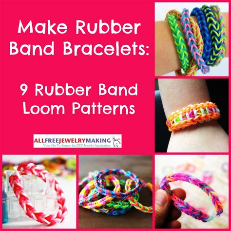 make rubber st at home make rubber band bracelets 9 rubber band loom patterns