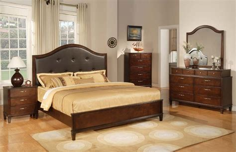 solid oak bedroom furniture sets photos tufted leather headboard cherry solid wood bedroom