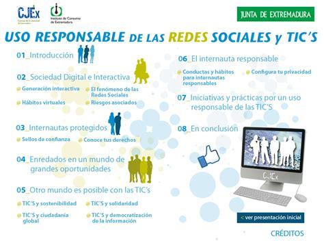 imagenes de uso de redes sociales uso responsable de las redes sociales cjex instituto