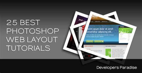 header design tutorial photoshop web tutorials