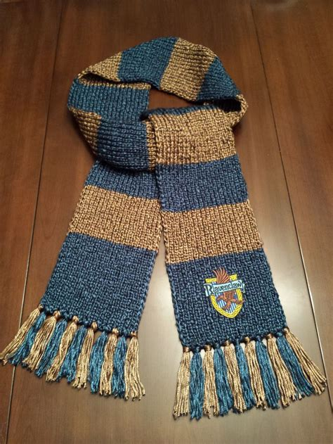 the knit house 25 best ideas about ravenclaw scarf on