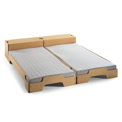 futon 3 cuerpos medidas modular stack able bed rolf heide cardboard