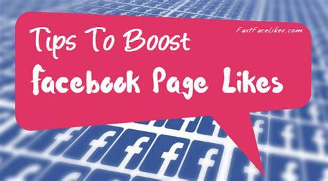 fan page followers tips to boost fanpage followers on