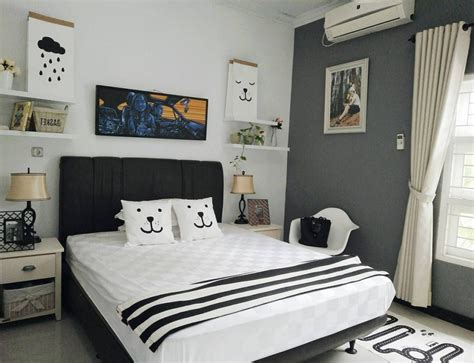 contoh desain kamar tidur sederhana tapi keren  ruang