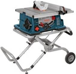 Bosch Portable Table Saw by Top 5 Portable Tables Saws Construction Tools