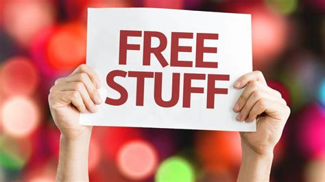 Win Free Stuff Online For Free Instantly - free stuff that comes with your cellphone contract one page komando com