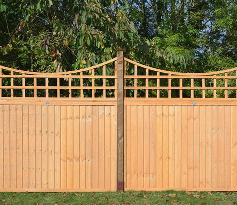 Garden Trellis Tops Grange Bow Top 6ft X 2ft Trellis Gardensite Co Uk