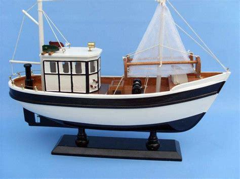 fishing boat model buy wooden mr shrimp model fishing boat 16 inch model