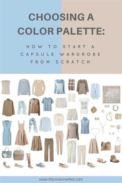 Wardrobe Color Palette by How To Build A Capsule Wardrobe From Scratch Choosing