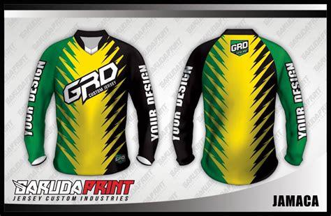 koleksi desain jersey sepeda downhill  garuda print