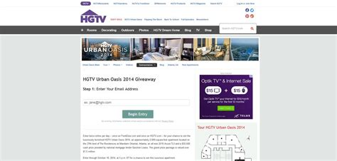Hgtv Com Urban Oasis Sweepstakes - hgtv dream home 2013 giveaway rules dream home home garden html autos weblog