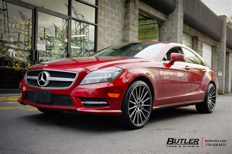 mercedes cls   tsw chicane wheels exclusively  butler tires  wheels  atlanta