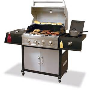 uniflame 4 burner gas grill uniflame 40 000 btu 4 burner gas grill wagon walmart
