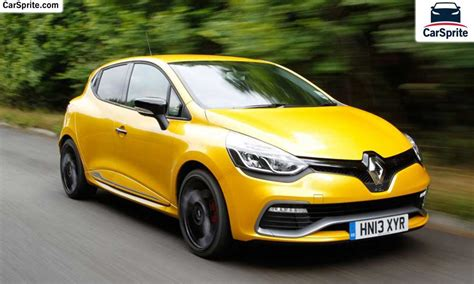 renault clio sport 2017 renault clio sport 2017 prices and specifications in