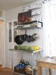 the right height to hang shelves diy inspired 1000 images about hanging pot rack ideas on pinterest