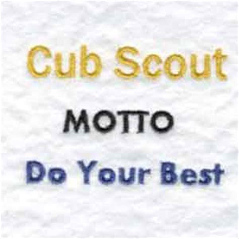 Scout Motto by Cub Scout Quotes Quotesgram