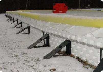 backyard ice rink brackets how to build a backyard hockey rink