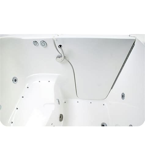 30 inch wide bathtub ella 355503l bariatric 30 5 inch wide seat walk in bathtub
