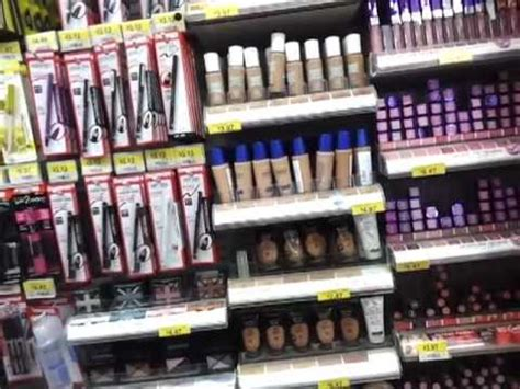 Up Walmart by Local Walmart Makeup Section