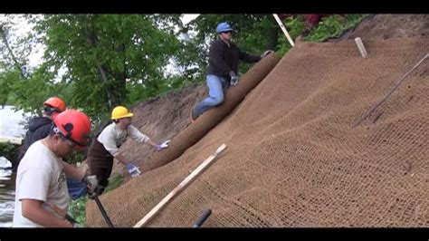 Landscape Fabric To Prevent Soil Erosion How To Stabilize Your Shore With Erosion Fabric
