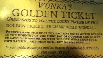 willy wonka golden ticket template willy wonka and the chocolate factory golden ticket