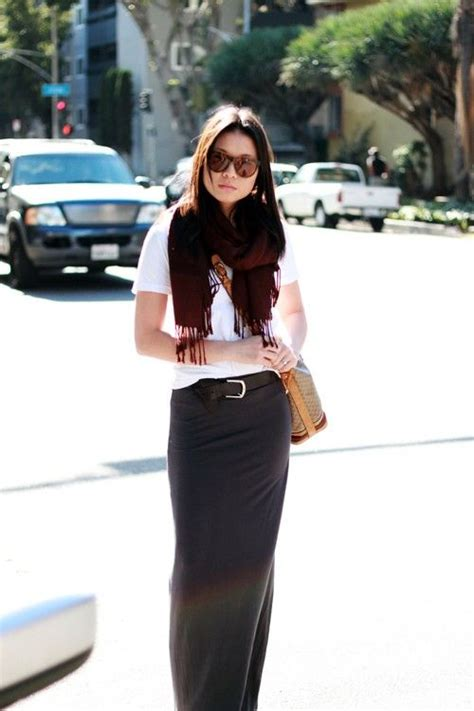 5 ways to wear your maxi skirt in winter smaggle