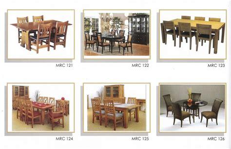 Gambar Dan Meja Makan Jepara katalog gambar mebel set meja makan model minimalis