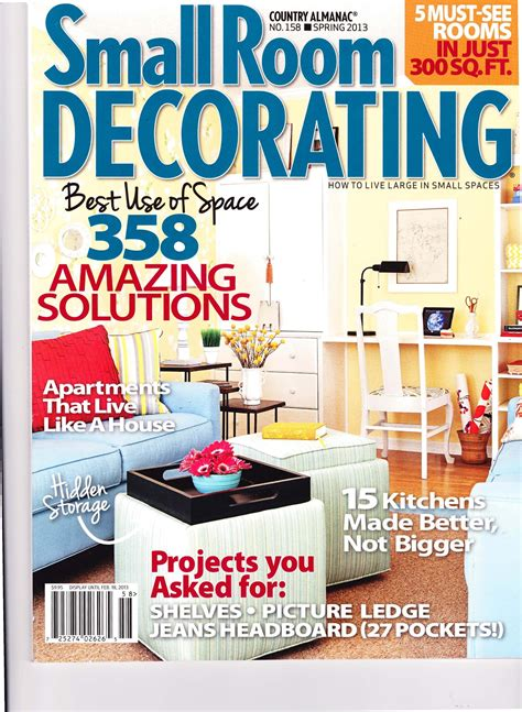 Magazine Room Decor | emi interior design inc small room decorating magazine 2013
