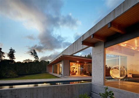 wide open home plan on big island of hawaii modern house