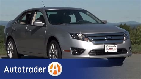 2011 ford fusion sedan new car review autotrader youtube