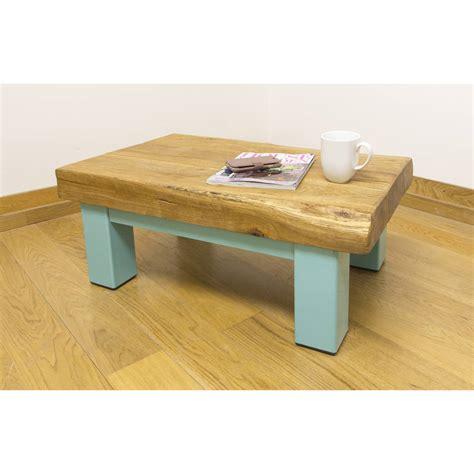 oak and iron medium coffee table by oak iron furniture