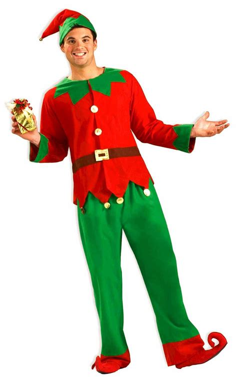 adult christmas santas elf costume 39 99 the costume land