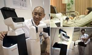 Toyota Nursing Toyota S Human Support Robot Can Fetch And Carry