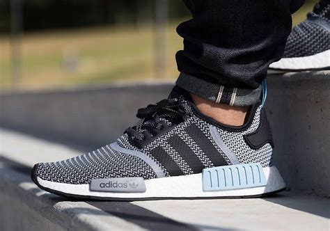 Sepatu Adidas Nmd Runner Grey White adidas nmd runner grey woven powder blue white