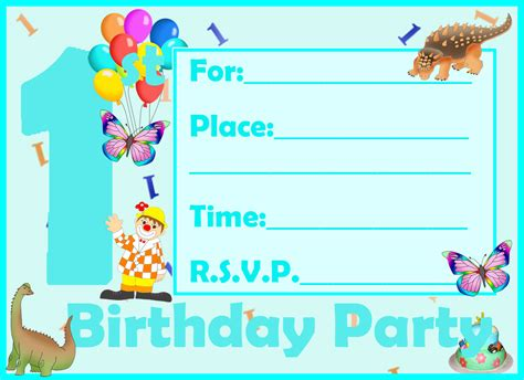 birthday card invitations festival tech