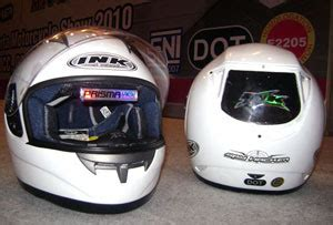 Helm Ink Road Race all information helm ink pakai spion
