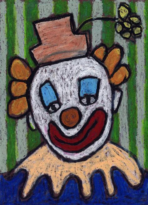 draw  clown art projects  kids