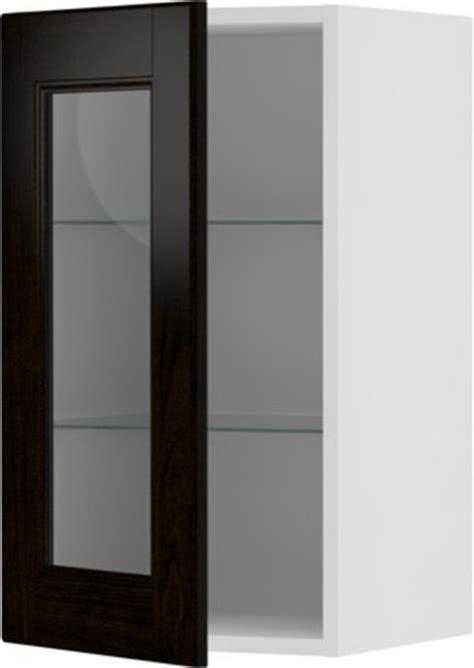glass door kitchen wall cabinets akurum wall cabinet with glass door scandinavian