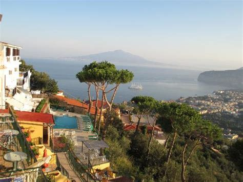 hotel fiorita sorrento view from hotel picture of hotel villa fiorita sorrento