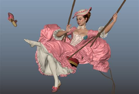 lady swings the swing the lady andor kollar character artist